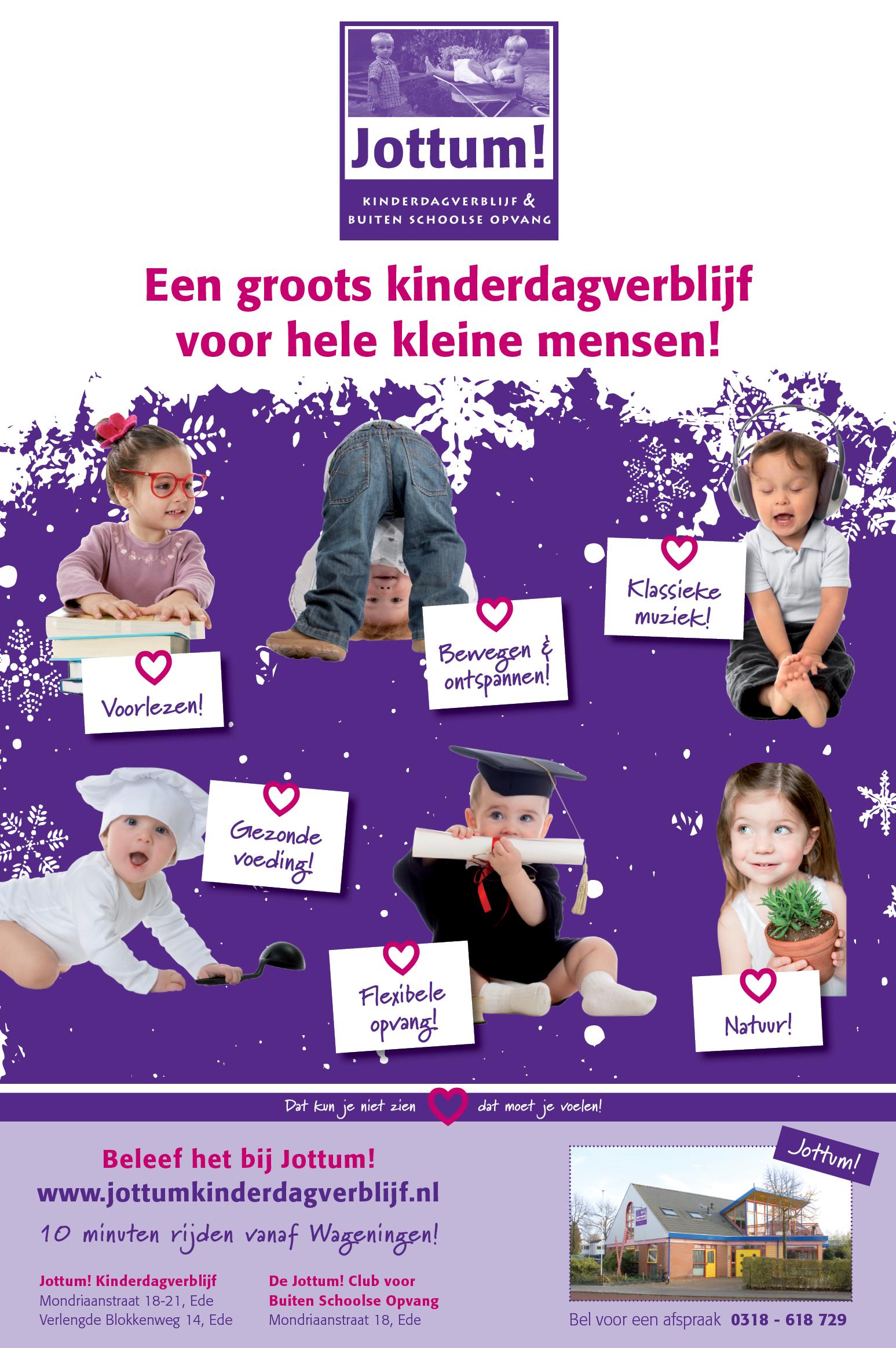 Jottum advertentie Wageningen Hoog en Laag 23 januari 2013